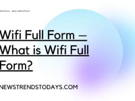Wifi Full Form – What is Wifi Full Form